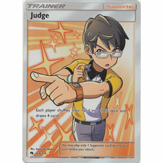 Judge - 209/214 - Full Art Ultra Rare
