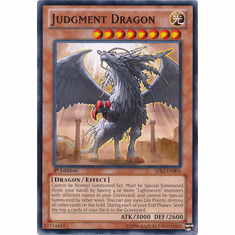 Judgment Dragon SDLI-EN004 - YuGiOh Realm Of Light Common Card
