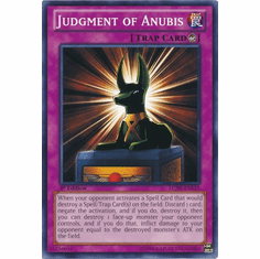 Judgment of Anubis LCJW-EN135 - YuGiOh Joey's World Common Card