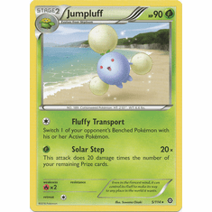 Jumpluff 5/114 Rare - Pokemon XY Steam Siege Card