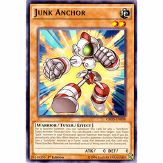 Junk Anchor CROS-EN098 Rare - YuGiOh Crossed Souls Card