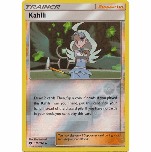 Kahili - 179/214 (Reverse Foil) Pokemon » SM Lost Thunder Uncommon
