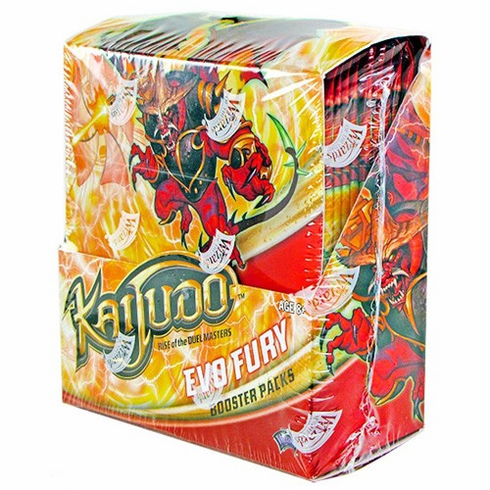 Kaijudo Evo Fury Booster Box (24 Booster Packs)
