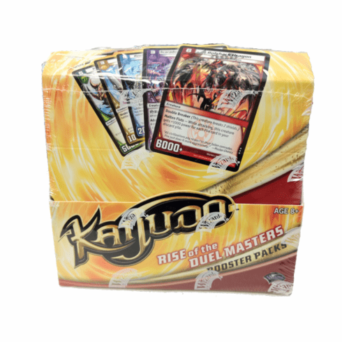 Kaijudo Rise Of The Duel Masters Booster Box (24 Kaijudo Booster Packs)