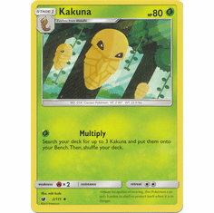 Kakuna 2/111 Uncommon - Pokemon Crimson Invasion Card