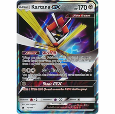 Kartana GX 70/111 Ultra Rare - Pokemon Crimson Invasion Card