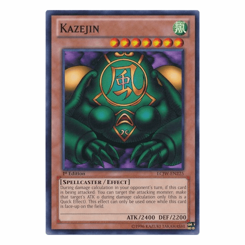 Kazejin LCJW-EN225 - YuGiOh Joey's World Common Card