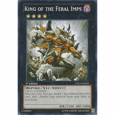 King of the Feral Imps LTGY-EN056 - Lord Of The Tachyon Galaxy Common