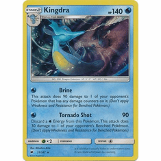 Kingdra 31/147 Holo Rare - Pokemon Sun & Moon Burning Shadows Card
