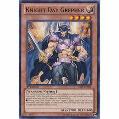 Knight Day Grepher SHSP-EN038 - YuGiOh Shadow Specters Common Card