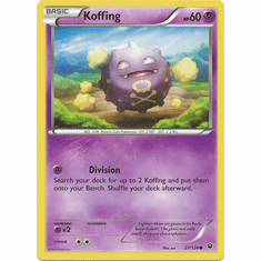 Koffing 27/124 Common - Pokemon XY Fates Collide Card