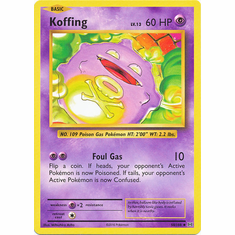 Koffing 50/108 Uncommon - Pokemon XY Evolutions Single Card