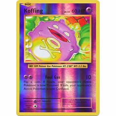 Koffing 50/108 Uncommon - Reverse Pokemon XY Evolutions Single Card