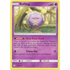 Koffing - 76/236 - Common Sun & Moon: Cosmic Eclipse Singles