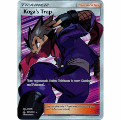 Koga's Trap - 211/214 - Full Art Ultra Rare Sun & Moon: Unbroken Bonds