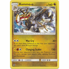 Kommo-o 77/111 Rare - Pokemon Crimson Invasion Card