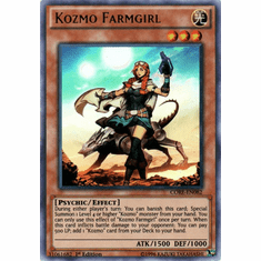 Kozmo Farmgirl CORE-EN082 Ultra Rare - YuGiOh Clash of Rebellions Card