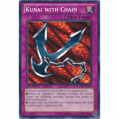 Kunai with Chain LCJW-EN081 - YuGiOh Joey's World Common Card