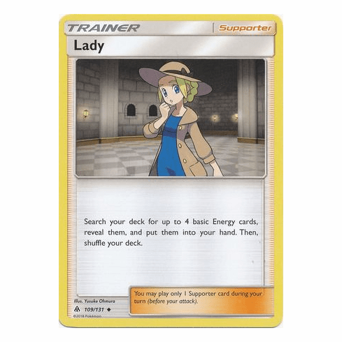 Lady 109/131 Uncommon - Pokemon Sun & Moon Forbidden Light Card