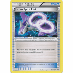 Latios Spirit Link 85/108 Uncommon - Pokemon XY Roaring Skies Card
