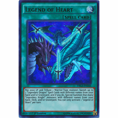 Legend of Heart DRL3-EN046 Ultra Rare - YuGiOh Dragons of Legend Unleashed Card