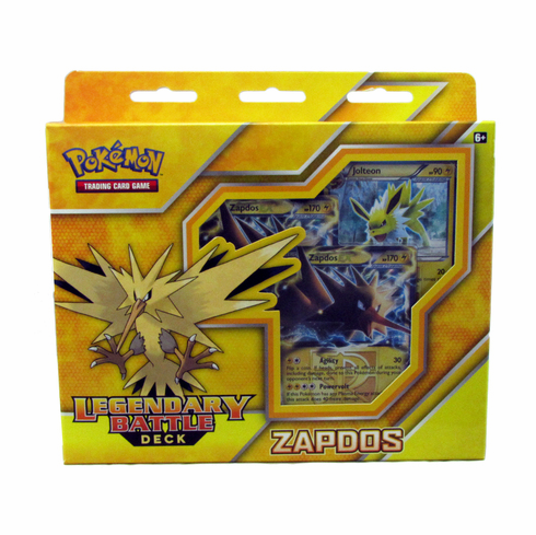 Legendary Battle Decks: Zapdos EX Pokemon Theme Deck