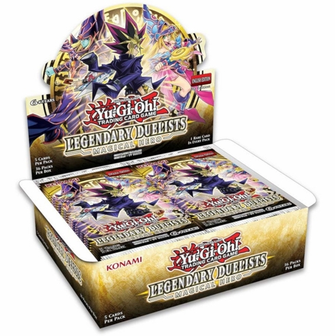 Legendary Duelists: Magical Hero Booster Box Expected Release: January 17, 2020