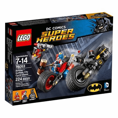 LEGO: DC Comics Super Heroes: Batman: Gotham City Cycle Chase (76053)