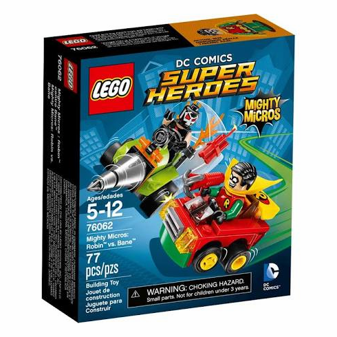 LEGO: DC Comics Super Heroes: Mighty Micros: Robin vs. Bane (76062)