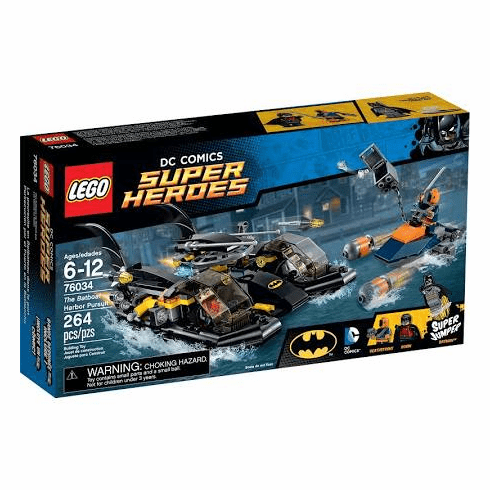 LEGO Super Heroes DC Comics The Batboat Harbour Pursuit #76034