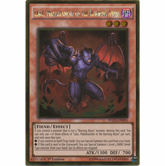 Libic, Malebranche of the Burning Abyss PGL3-EN050 - YuGiOh Gold Rare Card