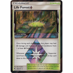 Life Forest Prism Star - 180/214 Pokemon � SM Lost Thunder HR