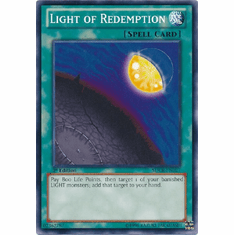 Light of Redemption SDCR-EN02 - YuGiOh Cyber Dragon Revolution Common