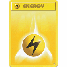 Lightning Energy 94/108 Common - Pokemon XY Evolutions Single Card