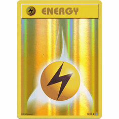 Lightning Energy 94/108 Common - Reverse Pokemon XY Evolutions Single Card