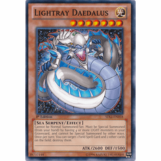 Lightray Daedalus SDLI-EN018 - YuGiOh Realm Of Light Common Card