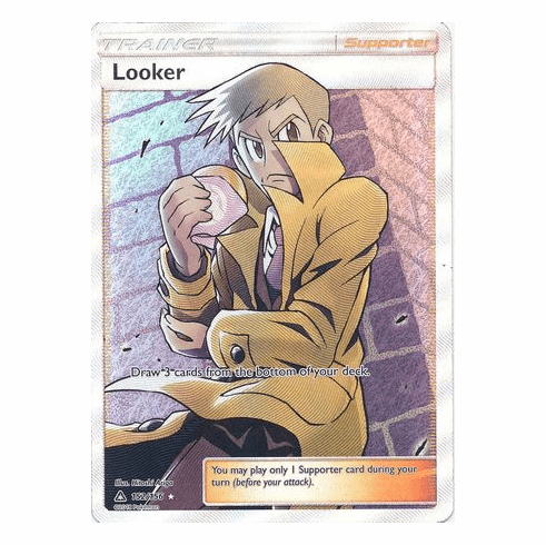 Looker 152/156 Full Art - Pokemon Ultra Prism