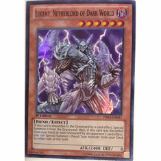 Lucent, Netherlord of Dark World PRIO-EN031 - Primal Origin Super Rare Card