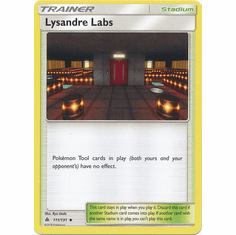 Lysandre Labs 111/131 Uncommon - Pokemon Sun & Moon Forbidden Light Card