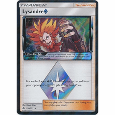 Lysandre�Prism Star 110/131 Holo Rare - Pokemon Sun & Moon Forbidden Light Card