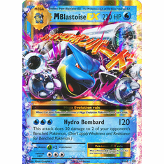 M Blastoise EX 22/108 Ultra Rare - Pokemon XY Evolutions Single Card