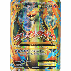 M Charizard EX 101/108 Full Art - Pokemon XY Evolutions Single Card
