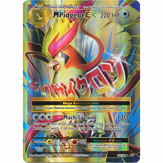 M Pidgeot EX 105/108 Full Art - Pokemon XY Evolutions Single Card