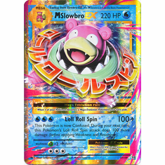 M Slowbro EX 27/108 Ultra Rare - Pokemon XY Evolutions Single Card