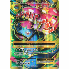 M Venusaur EX 100/108 Full Art - Pokemon XY Evolutions Single Card