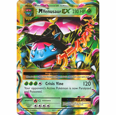 M Venusaur EX 2/108 Ultra Rare - Pokemon XY Evolutions Single Card