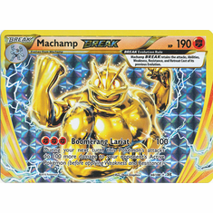 Machamp 60/108 Break Rare - Pokemon XY Evolutions Single Card