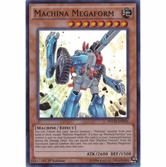 Machina Megaform NECH-EN036 - Super Rare The New Challengers Card