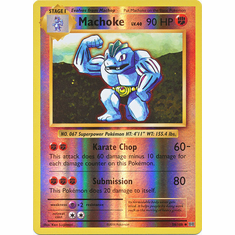 Machoke 58/108 Uncommon - Reverse Pokemon XY Evolutions Single Card