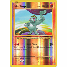 Machop 57/108 Common - Reverse Pokemon XY Evolutions Single Card